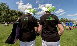 Aug. 05, 2017 - Twinsburg, Ohio, U.S. -  Several thousand sets of twins and triplets gather for the 42nd Annual Twins Days Festival in the town that was founded in 1817 by identical twins Aaron and Moses Wilcox.(Credit Image: © Brian Cahn via ZUMA Wire)