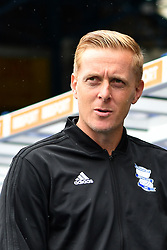 """Birmingham City manager Garry Monk<br />during the pre-season friendly match at the St Andrew's Trillion Trophy Stadium, Birmingham. PRESS ASSOCIATION Photo. Picture date: Saturday July 28, 2018. See PA story SOCCER Birmingham. Photo credit should read: Anthony Devlin/PA Wire. RESTRICTIONS: EDITORIAL USE ONLY No use with unauthorised audio, video, data, fixture lists, club/league logos or """"live"""" services. Online in-match use limited to 75 images, no video emulation. No use in betting, games or single club/league/player publications."""