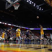 UNCASVILLE, CONNECTICUT- JUNE 5:   Briann January #20 of the Indiana Fever shoots during the Indiana Fever Vs Connecticut Sun, WNBA regular season game at Mohegan Sun Arena on June 3, 2016 in Uncasville, Connecticut. (Photo by Tim Clayton/Corbis via Getty Images)