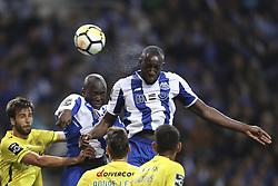 October 21, 2017 - Porto, Porto, Portugal - Porto's Malian forward Moussa Marega (R) during the Premier League 2017/18 match between FC Porto and FC Pacos de Ferreira, at Dragao Stadium in Porto on October 21, 2017. (Credit Image: © Dpi/NurPhoto via ZUMA Press)