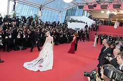 Actress Elle Fanning walks the red carpet during the Opening Ceremony of the 70th annual Cannes Film Festival at Palais des Festivals in Cannes, France. 17 May 2017 Pictured: Elle Fanning. Photo credit: Francis Specker / MEGA TheMegaAgency.com +1 888 505 6342