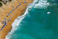 Grece, Crete, plage de Matala, la plage rouge // Greece, Crete, Matala beach, Red beach