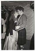 Claire Jackson; Christopher Jorden, Sandhurst Commissioning Ball, 1988.