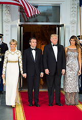 State Dinner at White House - 24 April 2018
