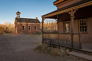 Grafton Townsite, ghost town of a Mormon farm settlement along the Virgin River, south of Zion National Park, Utah