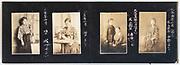 students from a teacher education school photo album Japan ca 1927
