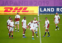 Rugby Union - 2019 Rugby World Cup - England Training Captain's Run pre-Semi-Final <br /> <br /> Jonathon Joseph of England at International Stadium Yokohama, Kanagawa Prefecture, Yokohama City.<br /> <br /> COLORSPORT/LYNNE CAMERON