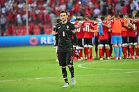 Deception Hugo LLORIS / Joie Albanie - 13.06.2015 - Albanie / France - Match Amical - Tirana<br />Photo : Dave Winter / Icon Sport