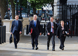 Cabinet Office, London, June 4th 2017. Defence Secretary Michael Fallon arrives at the Cabinet Office in Whitehall for the emergency COBRA Committee meting following the London Bridge and Borough Markets terrorist incident which claimed the lives of six members of the public and injured over twenty more.