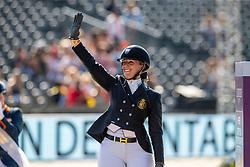 Podium Freestyle, Grade IV, Bronze medal, Claeys Manon, BEL<br /> European Championship Dressage<br /> Rotterdam 2019<br /> © Hippo Foto - Dirk Caremans