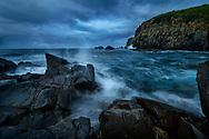 Oceania; Australia; Australian; Tasmania; Bruny Island , Bruny Island Lighhouse coast