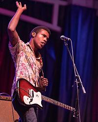 July 3, 2018 - Milwaukee, Wisconsin, U.S - BENJAMIN BOOKER during Summerfest Music Festival at Henry Maier Festival Park in Milwaukee, Wisconsin (Credit Image: © Daniel DeSlover via ZUMA Wire)