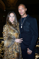 Chloe Green and Jeremy Meeks attending the Ralph and Russo show as part of Paris Haute Couture Fashion Week Spring/Summer 2018-2019 on January 22, 2018 in Paris, France. Photo by Aurore Marechal/ABACAPRESS.COM