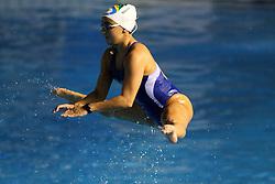 Treino da equipe de nado sincronizado nos jogos Pan-Americanos de Guadalarrara 2011. FOTO: Jefferson Bernardes/Preview.com