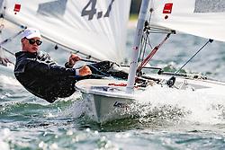 , Travemünder Woche 19. - 28.07.2019, Laser 4.7 - GER 200083 - Kajus GOEDE - Mühlenberger Segel-Club e. V떅