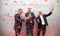 No repro fee<br /> 24-5-2018<br /> **Circle K launches Ireland's biggest ever fuel and food giveaway**<br /> Pictured (L-R) are Niall Anderton, Managing Director of Circle K Ireland; Jacob Schram, Group President of European Operations, Circle K; and  Jørn Madsen, Executive Vice President, Circle K Europe and Ireland,who today announced the details of Ireland's biggest ever fuel and food giveaway. Valued at €500,000, selected Circle K sites across Ireland will roll out a whole host of special offers over the coming months for motorists and consumers to enjoy, in line with the rollout of the Circle K brand in Ireland. Today's announcement coincides with the unveiling of a newly rebranded Circle K service station, located at City Avenue in Citywest Business Campus, Co. Dublin. Circle K City Avenue has now officially joined the retailer's Family of Merchants, bringing Circle K's extensive offering to the local area.Pic:Naoise Culhane-no fee<br /> ENDS<br /> For further information, please contact: <br /> Saoirse Whelan / Teneo PSGsaoirse.whelan@notorious.ie- 087 9543089<br /> Seán O'Brien / Teneo PSG / sean.obrien@teneopsg.com / 087 755 4531<br /> Pic:Naoise Culhane-no fee
