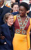 Kelly Reichardt and Maimouna N'Diaye at the closing ceremony and The Specials film gala screening at the 72nd Cannes Film Festival Saturday 25th May 2019, Cannes, France. Photo credit: Doreen Kennedy