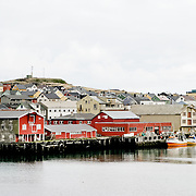 Fishing industry in Kirkenes. Three weeks aboard the Kong Harald. Hurtigruten, the Coastal Express.