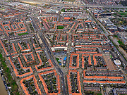 Nederland, Utrecht, Utrecht, 25-02-2020; de wijk Zuidwest, de buurt Rivierenwijk.<br /> Utrechtsouthwest.<br /> <br /> luchtfoto (toeslag op standard tarieven);<br /> aerial photo (additional fee required)<br /> copyright © 2020 foto/photo Siebe Swart