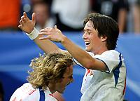 Jubel 0:3 Pavel Nedved, Tomas Rosicky Tschechien<br /> USA - Tsjekkia<br /> Fussball WM 2006 USA - Tschechien<br /> Norway only<br /> Fotball VM