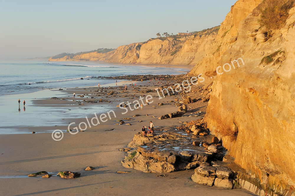 From La Jolla, looking north to Blacks Beach and Torrey Pines State Park.