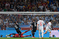 Isco of Spain scores a goal during the International friendly game football match between Spain and Argentina on march 27, 2018 at Wanda Metropolitano Stadium in Madrid, Spain - Photo Rudy / Spain ProSportsImages / DPPI / ProSportsImages / DPPI