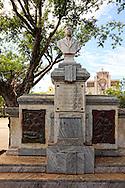 Monument in Ciego de Avila, Cuba.