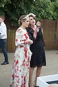 NATHALIE REIFSCHNEIDER; KATERINA OTTMANN, 2016 SERPENTINE SUMMER FUNDRAISER PARTY CO-HOSTED BY TOMMY HILFIGER. Serpentine Pavilion, Designed by Bjarke Ingels (BIG), Kensington Gardens. London. 6 July 2016