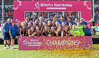 ANTWERPEN -  Oranje wint de finale.  De finale  dames  Nederland-Duitsland  (2-0) bij het Europees kampioenschap hockey.  COPYRIGHT  KOEN SUYK
