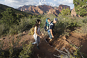 SHOT 8/6/17 7:15:28 PM - UOT Tourism photos of Brian Head and Cedar City, Utah. Images include riding Brian Head Resort in Brian Head, Utah; exploring Cedar Breaks National Monument, hiking Kolob Canyons in Zion National Park and mountain biking the Lava Flow Trail in Cedar City, Utah. (Photo by Marc Piscotty / © 2017)