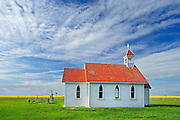 St. Columba Anglican Church<br /> Eyebrow<br /> Saskatchewan<br /> Canada