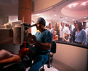 Laser eye surgery, so common now it is done in shopping malls.
