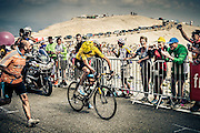 Chris Froome riding to victory on Mont Ventoux stage TDF 2013