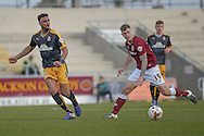 Northampton Town Striker James Collins  during the Sky Bet League 2 match between Northampton Town and Cambridge United at Sixfields Stadium, Northampton, England on 12 March 2016. Photo by Dennis Goodwin.