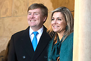 Werkbezoek van Zijne Majesteit de Koning, vergezeld door Hare Majesteit Koningin Maxima aan de Duitse deelstaten Thüringen, Saksen en Saksen-Anhalt<br /> <br /> Working visit of His Majesty the King, accompanied by Her Majesty Queen Maxima in the German states of Thuringia, Saxony and Saxony-Anhalt<br /> <br /> op de foto / On the Photo:  Koning Willem Alexander en koningin Maxima brengen een bezoek aan Kasteel de Wartburg<br /> <br /> King Willem Alexander and Queen Maxima visit the Wartburg Castle