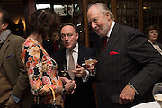 CAROL VICTOR; ANDREW ROBERTS; ED VICTOR; The Brown's Hotel Summer Party hosted by Sir Rocco Forte and Olga Polizzi, Brown's Hotel. Albermarle St. London. 14 May 2015