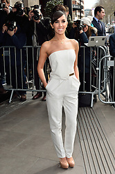 © Licensed to London News Pictures. 08/03/2016. JANETTE MANRARA arrives for the TRIC Awards. The Television and Radio Industries Club's annual awards ceremony, honour's the best performers and programmes  of the last year .London, UK. Photo credit: Ray Tang/LNP