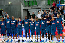 Team France during last friendly match before Eurobasket 2013 between National teams of Slovenia and France on August 31, 2013 in SRC Stozice, Ljubljana, Slovenia. (Photo by Urban Urbanc / Sportida.com)