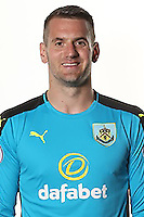 BURNLEY, ENGLAND - JULY 20:  Tom Heaton of Burnley poses during the Premier League portrait session on July 20, 2016 in Burnley, England. (Photo by Barrington Coombs/Getty Images for Premier League)