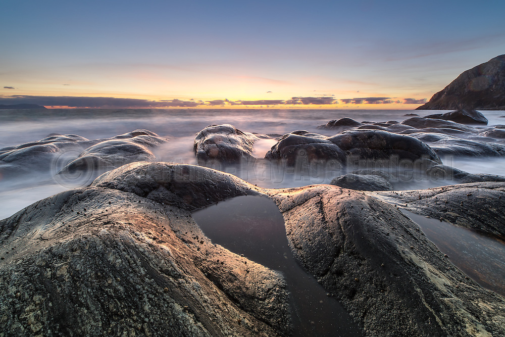 Sunset at Mulevika, Norway | Solnedgang i Mulevika, Norge