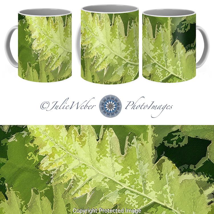 Coffee Mug Showcase  56 - Shop here: https://2-julie-weber.pixels.com/products/roadside-fern-2-julie-weber-coffee-mug.html