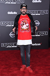 Celebrities walk the red carpet for the 'Rogue One: A Star Wars Story' world premiere held at the Pantages Theatre in Hollywood. 10 Dec 2016 Pictured: A. J. McLean. Photo credit: American Foto Features / MEGA TheMegaAgency.com +1 888 505 6342