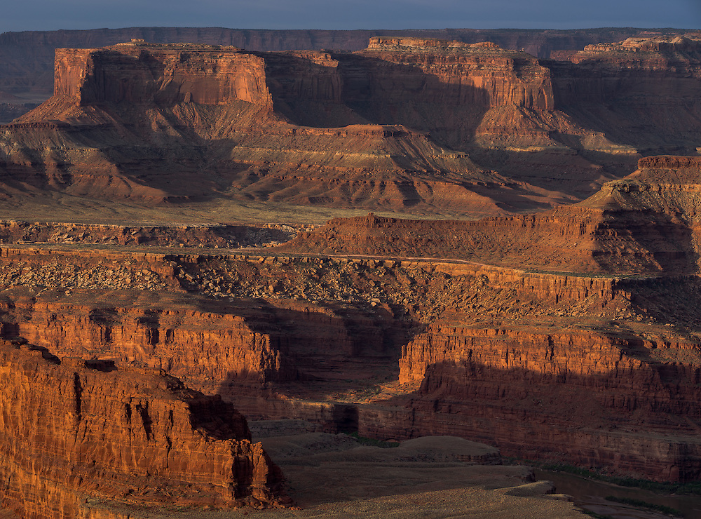 Sunrise view from Dead Horse Point State Park, Utah