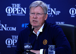 Chief Executive of the R&A Martin Slumbers during practice day four of The Open Championship 2017 at Royal Birkdale Golf Club, Southport.