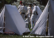 Tents, Revolutionary War Re-enactment, Valley Forge National Historical Park, King of Prussia, Montgomery Co., PA