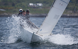 Clyde Cruising Club's Scottish Series 2019<br /> 24th-27th May, Tarbert, Loch Fyne, Scotland<br /> <br /> Day 1 - Perfect conditions to start the 45th Series.<br /> <br /> GBR845, Ataraxia, Stephen Rarity, CCC, Etchells 22 One Design<br /> <br /> Credit: Marc Turner / CCC