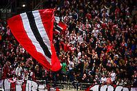 Supporters de Reims - 16.05.2015 - Reims / Rennes - 37eme journee de Ligue 1<br />Photo : Dave Winter / Icon Sport