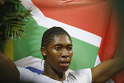 ZURICH, Aug. 31, 2018  Caster Semenya of South Africa celebrates after the women's 800m competition at the IAAF Diamond League athletics meeting in Zurich, Switzerland, Aug. 30, 2018. Caster Semenya claimed the title in a time of 1 minute and 55.27 seconds. (Credit Image: © Michele Limina/Xinhua via ZUMA Wire)