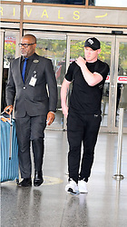 EXCLUSIVE: Wayne Rooney arrives back in Barbados to be with his family, after a brief trip to Washington where he's considering joining DC United. 25 May 2018 Pictured: Wayne Rooney. Photo credit: MEGA TheMegaAgency.com +1 888 505 6342