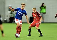 Fotball, 26. august 2018 , Eliteserien , Vålerenga - Brann 2-0<br /> Bård Finne  , VIF<br /> Taijo Teniste , Brann
